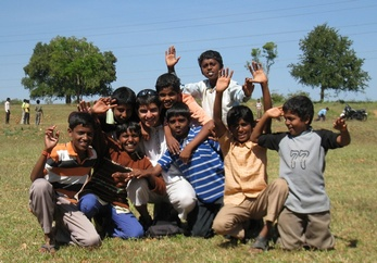 Happy Indian Kids