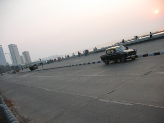 Sunset at Marine Drive