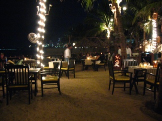 Beach bar/restaurant