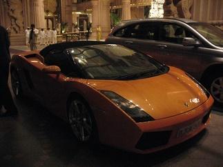 Topless Lamborghini